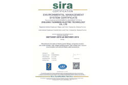 Environmental Management System Certificate Approval ISO14001:2015