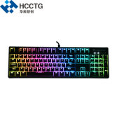 Colorful RGB Lighted Mechanical Cherry Keyboard for Gaming (HGK104)