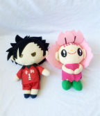 Carton character plush toy
