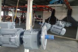 Inline shaft gear motor