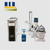 RE-2000E Rotary Evaporator with Chiller and Water Aspirator