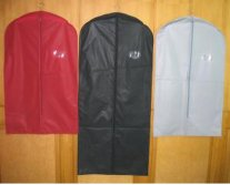 custom colourful suit cover garment bag for package