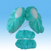 Nonwoven Shoe Cover with Anti-Skid, Disposable Shoe Cover