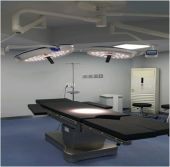 Our led operating light and electric operating table install in one South Korea hospital