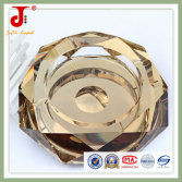 European luxurious style crystal glass ashtray home decoration