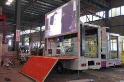 LED display truck workshop