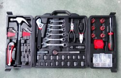 China Wholesale 160PC Household Tool Set with Spanner Socket Set