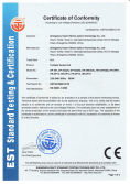 CE certificate for portable dental unit