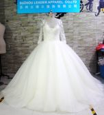 Ball Gown Pattern Real Photo