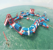 Inflatable Water Park Tarpaulin for Sea