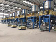 customer-plastic granule packing machine company in Malaysia