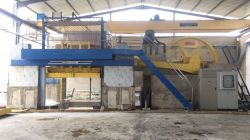 100 gangsaw machine stangding in Tangier of morocco