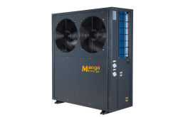Low noise high cop 12kw air to air heat pump