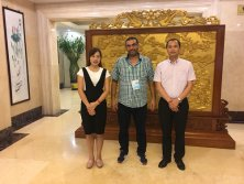 Meet with clients visiting China