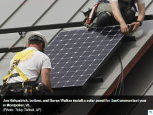 White House unveils new solar, energy efficiency steps(Sept. 18, 2014)