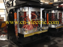 1.5t Medium Frequency Induction Melting Furnace to Mashhad Iran