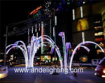 LED 3D Motif lights projects in Poland