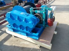 Electric Winch exported in VN