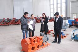 Warmly Welcome Zoucheng Merchants Visit China Coal Group to Purchase Equipment