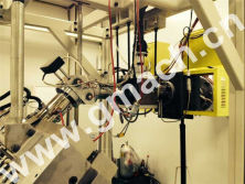 melt gear pump and screen changer for plastic extrusion machine