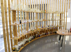 Crystal Perfume Bottle Show Room