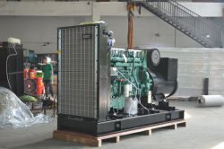 open power generator with volvo engine