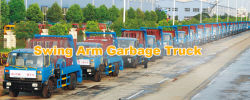 50units swim arm garbage truck to Africa