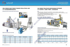 side force feeder pelletizing line