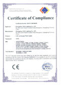 CE Certificate for LED Tree Lights