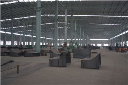 work shop for conveyor parts