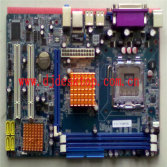 G41-775 motherboard with good market in India Supports DDR3 1333/1066/800 memory