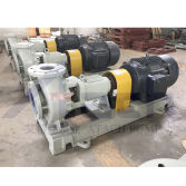 ATACH IHF Fluoroplastics Filled In Steel Industrial Pumps