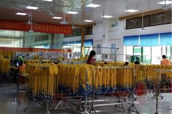 YHT fiber optic patch cord production