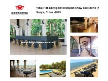 Yatai Hot-Spring hotel project show case done in Sanya, China -2013