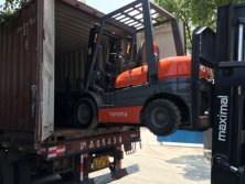 3 TOYOTA FORKLIFT SOLD out
