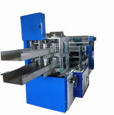 Napkin paper folding machine 2 channels