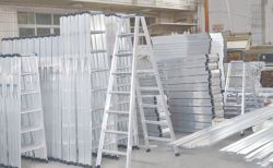 Aluminium Ladder Storage