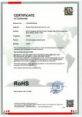 ROHS Certificate for Thermal Imaging Attachments