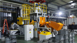 MB100 Tumble Shot Blasting Machine