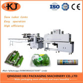 Automatic vegetable shrink packing machine with high quality