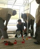Mozambique Client coming to china studying Chicken Rasing and Equipment Installation