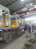 QT12-15D block machine shipped to Laos