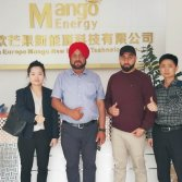 Mango energ heat pump India close partner!