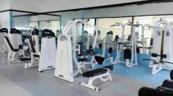 Pin loaded machine in Gym