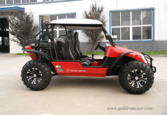 2-seater UTV with 48V5KW Motor Air cooling system