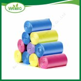 HDPE LDPE Colorful Plastic Garbage Bag