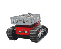 Fire and transportation assist robot
