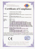 CE Certificate for LED Track Light