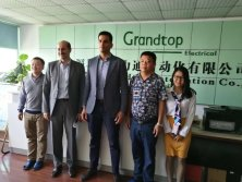 2017.11.1 Germany Customer Knick Visit Grandtop