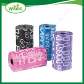 Plastic Garbage Bag on Roll